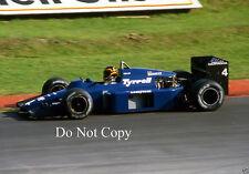 Stefan Bellof Tyrell 012 British GP 1985 Photograph