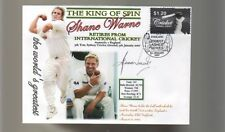 SHANE WARNE 'THE KING OF SPIN' FINAL TEST CRICKET COV 1
