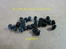 25 Pcs Hex Socket Grub Screw - M5 x 6mm