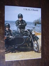 Urali Classic, Roadster, LyX, Custom, Adventure, prospetto/brochure, DK, 1995?