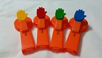 Mr Mouth Feed the Frog Replacement Parts Set of 4 Plastic Arms Replacement Part