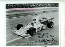 Mike Mosley (1946-1984) Eagle Indianapolis 500 1974 Signed Vintage Photograph