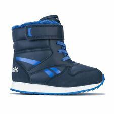 Boy's Reebok Classics Infant Classic Jogger Strap Snow Boots in Blue