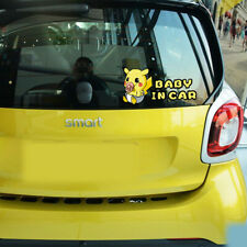 Pikachu Pokemon Go Baby In Car Stickers and Decal