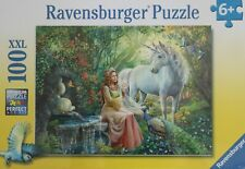 Ravensburger Puzzle Princess & Unicorn XXL 100 Pcs NEW Sealed Box #10559