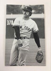 Jim Catfish Hunter (1977) New York Yankees Vintage Baseball Postcard NYY