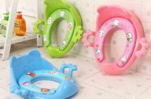 Children Potty Training Seat Baby Kids Toddler Handle Toilet Soft Pad Cushion