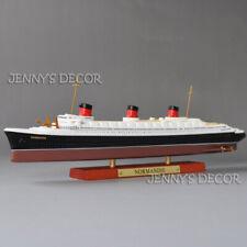 Atlas 1:1250 Diecast Ship Model Normandie Ocean Liner Cruiser Replica Collection