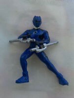 "Bandai Power Rangers Jungle Fury Theo Blue Jaguar Figure 2007 PVC Sz 3.5"""
