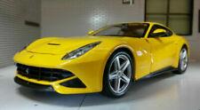 Véhicules miniatures jaunes pour Ferrari 1:24
