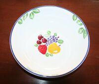 "International Tableworks Fruit Fancy 12""  Round Fruit Bowl"