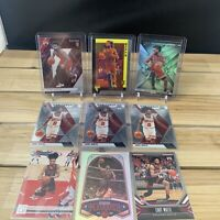 Coby White 2019-20 Mosaic Chronicles Lot Of 9 Rookie Chicago Bulls RC INVEST!🔥