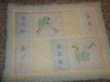 Lambs & Ivy FROGGY TALES Frog Prince Crib Set {Comforter/Bumper Pads/Skirt}