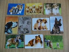 Swap playing cards    10  Modern Wides  Dogs  #D43