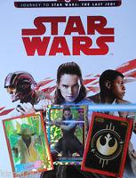 TOPPS JOURNEY TO STAR WARS THE LAST JEDI  GOLD/FOIL/JEDI FOIL CARDS