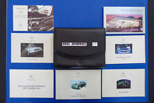 2002 Mercedes W210 E320 E420 E55 AMG Owner Manuals Operator Books Package # S150