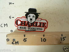 STICKER,DECAL CHARLIE'S CHAPLIN ? BAR DANCING HAAKSBERGEN MOVIE
