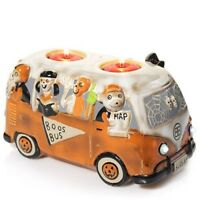 Yankee Candle 2016 Boney Bunch Boos Bus Votive Holder New in Box!