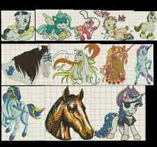 400+ Unicorn Pegasus Pony Collection of PES Designs Brother Embroidery Machine