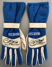 Rare Ralf Schumacher Signed Sparco F1 Gloves Pair with LOA