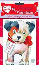 15 Vintage Valentines: A Valentine for Everyone: 15 Die-Cut Cards in Bag with De