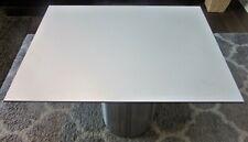 HPL Platte Tischplatte 8mm White beidseitig 931 x 697 mm TRESPA® Meteon® A03.0.0