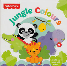 Fisher Price First Focus Frieze Jungle Colours by Mattel NEW (Novelty book 2013)