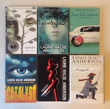 Lot 6 Laurie Halse Anderson Books_Catalyst, Speak, Prom, Twisted, Wintergirls