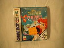 VIDEOGIOCO GAME BOY COLOR – THE LITTLE MERMAID 2 PINBALL FRENZY DISNEY