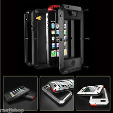 Waterproof Shockproof Aluminum Gorilla Metal Cover Case for iPhone 5 5S 6 6S 7 8
