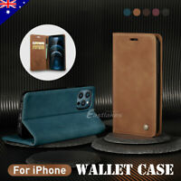 Retro Flip Leather Wallet Case Cover Shockproof For Apple iPhone 12 Pro Max mini
