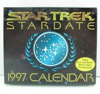 Star Trek Stardate 1997 Calendar Star Trek Next Generation
