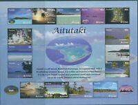 Aitutaki 2010 SG746 Island Views MS MNH