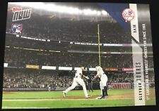 Gleyber Torres 1ST Career HR Youngest Yankees HR Since 1969 Topps NOW #167 RC sp