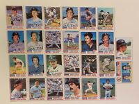 ☆🔥 BOSTON RED SOX 1982 TOPPS TEAM SET complete VG Yaz Rice 26 Cards + 🎁 🔥☆