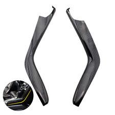 "For Honda Civic 2016 2017 15.35""Auto Black ABS Carbon Fiber Gear Side Cover Trim"
