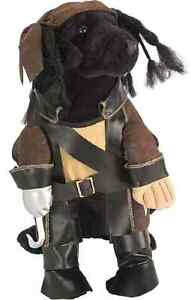 Pirate King Captain Caribbean Cute Fancy Dress Up Halloween Pet Dog Cat Costume