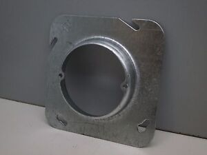 "Steel City 72-C-3-3/4  Box Cover Mud Ring 4-11/16"" Square x 3/4"" High 830 601-CA"
