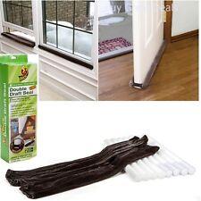 Draft Door Seal Protect Block Gap Home Window Room Temperature Double 2 Count
