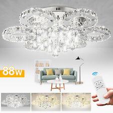 Kristall Deckenleuchte Deckenlampen Leuchtmittel Wohnzimmerlampe 88W LED  Luxus