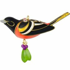 2014 Hallmark Miniature BALTIMORE ORIOLE Beauty of Birds Ornament