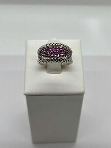Effy Ruby Ring, Size 7.5