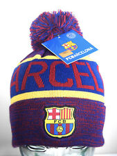 NEW FC Barcelona Beanie Soccer Officially Licensed Messi UCL Champion's League