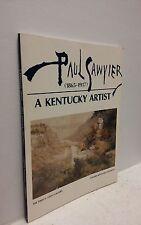A Kentucky Artist: Paul Sawyier (1865-1917)-Art