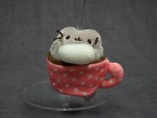 Gund New * Pusheen Blind Box - Hot Cocoa Chocolate * Ornament Holiday Mini Plush
