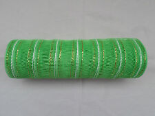 Apple Green Deco Mesh 10 inches by 10 yards