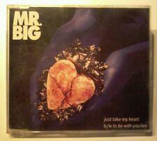 M. Big-just take my heart MAXI CD 4 track