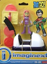 NIB Fisher-Price Imaginext Teen Titans Go! Pizza Party Starfire Figure Toy