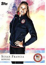 SUSAN FRANCIA - 2012 OLYMPICS -  TOPPS #57