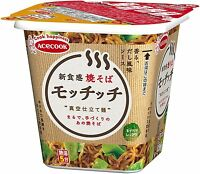 ACECOOK JAPAN Motchitchi INSTANT YAKISOBA 99 g x 12 Japanese Fried noodles